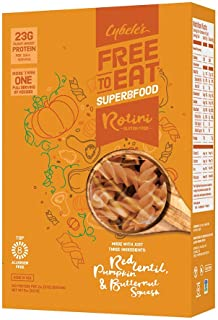 Cybele`s Free to Eat Superfood Veggie Pasta - Superfood Orange, Rotini - 8 Oz Box (Pack Of 6)