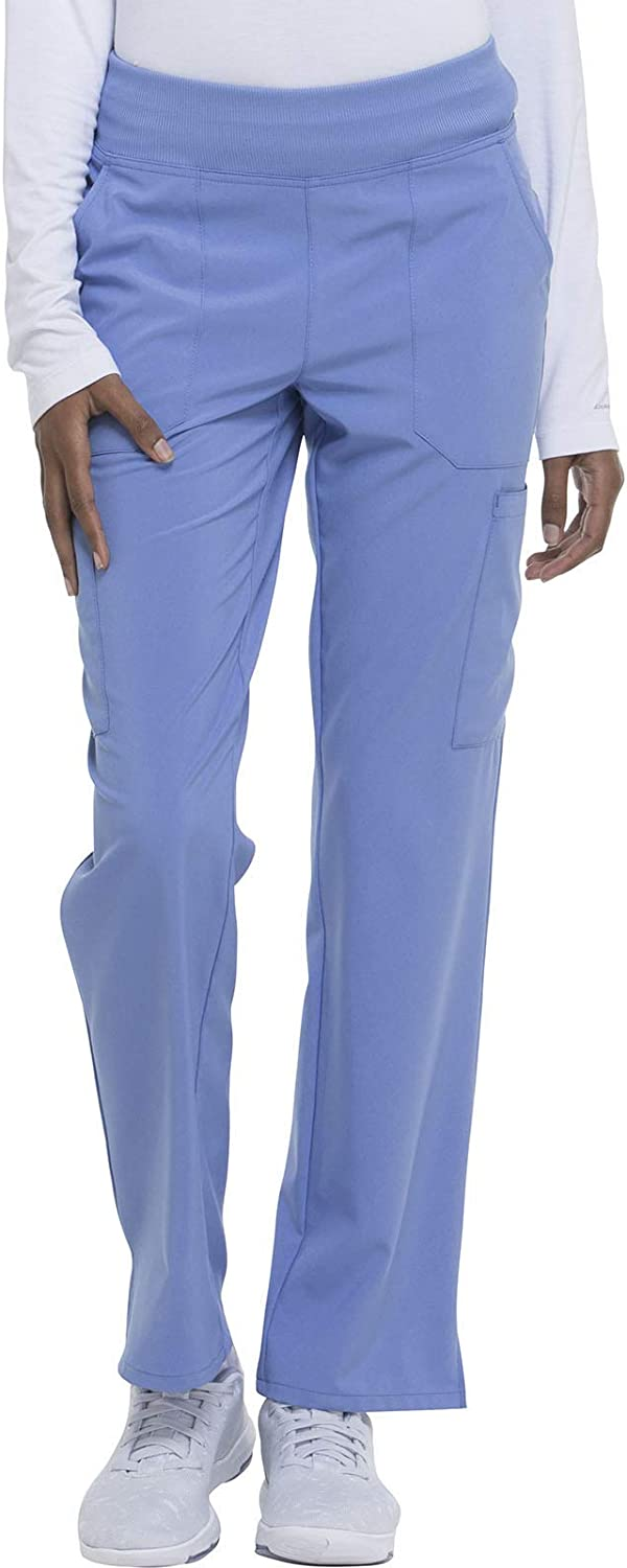 Dickies EDS Essentials Women Scrubs Natural Pant Tapered Le Max Max 84% OFF 50% OFF Rise