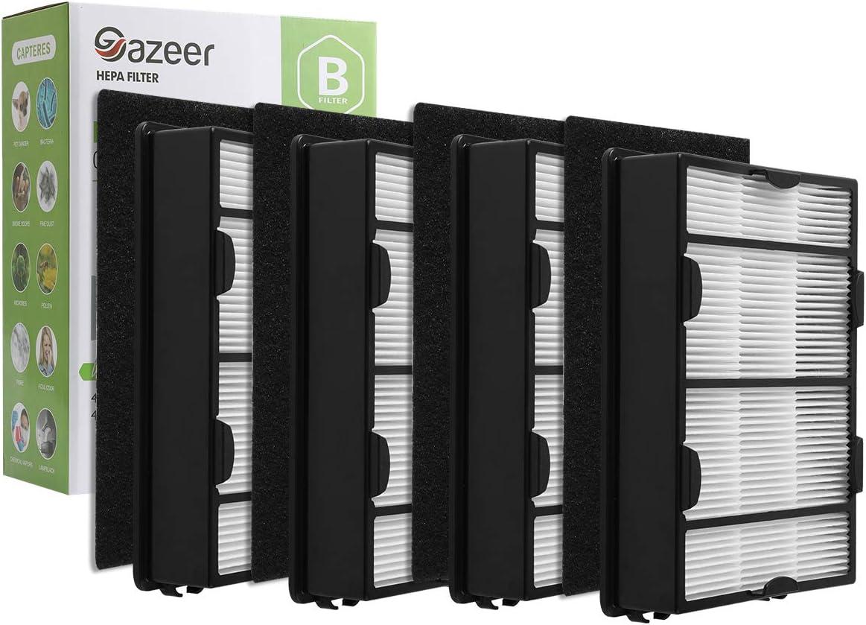 Gazeer True HEPA Sales Filter B 4 Pre Inexpensive + C Carbon Pack