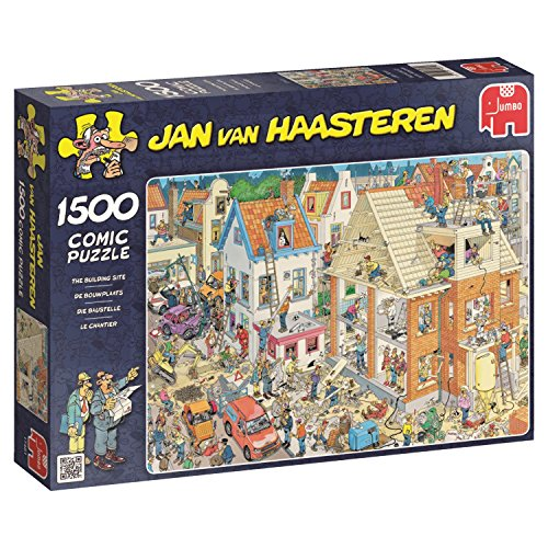 Jumbo - Puzzle Building Site, 1500 Piezas (617461)