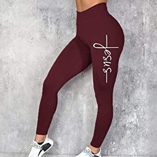 Sports Leggings Women Workout Leggings, Slim Leggings Polyester High Waist Jeggings Women Pencil Pants Sports Tights