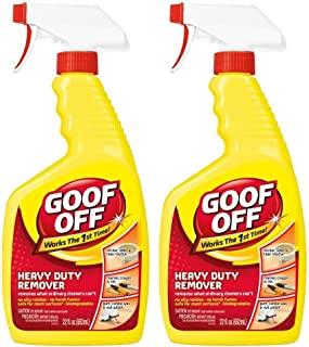 Goof Off FG659 Heavy Duty Remover, Trigger Spray, 22-Ounce 3-Pack (Тwo Рack)
