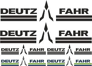 Deutz Aufkleber Kotflügel Baureihe D5006 Logo Emblem Sticker .