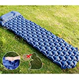 LightingWill Inflatable Sleeping Mat, Self Inflating Camping Pad, Ultralight Inflatable Sleeping Pad, Waterproof
