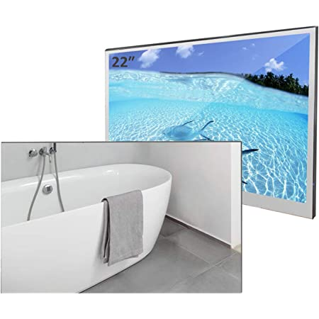 Amazon Com Elecsung 22inch Smart Mirror Tv For Bathroom Ip66 Waterproof With Integrated Hdtv Atsc Tuner And Built In Wi Fi Updated With Bluetooth 2021 Model Electronics