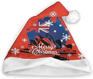 The Sydney Opera House Australia Funny Party Hats Santa Hats Christmas Novelty Up Hats Hat Blinking Holiday Hats