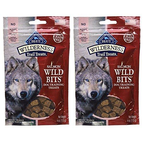 Blue Buffalo Wilderness Trail Treats - Salmon Wild Bits (2 Pack) by Blue Buffalo