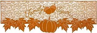Rainlemon Thanksgiving Day Mantel Fireplace Scarf Family Together Fall Autumn Pumpkin Maple Leaf Festive Decoration