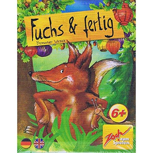 大きさ比べ (Fuchs & Fertig) カードゲーム