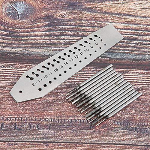 Multifunktions-Gewindebohrer-Set, Super-Langlebiger Schraubgewindebohrer, 36-Loch-Gewindebohrer-Werkzeug Wasserdicht für Uhrmacher-Uhrenreparatur