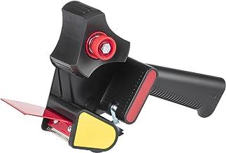 Scotch handafroller H-180 voor verpakkingstape, 50 mm x 66 m, zwart/rood (1 stuk)