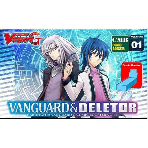 Cardfight Vanguard « G Comic Vanguard et deletor Booster Jeu de Cartes d'affichage (Lot de 12)