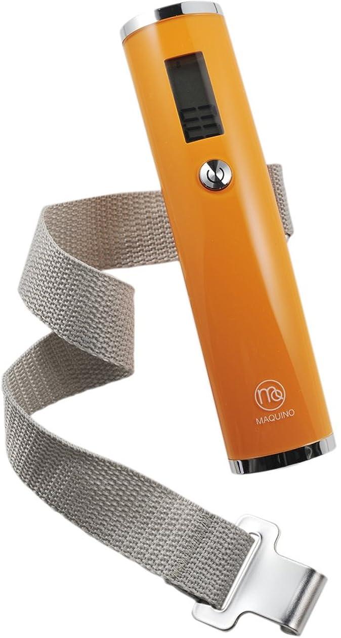 同じ貸す国民投票MAQUINO ラゲッジチェッカープラス オレンジ (手荷物の重さを量る) 071372