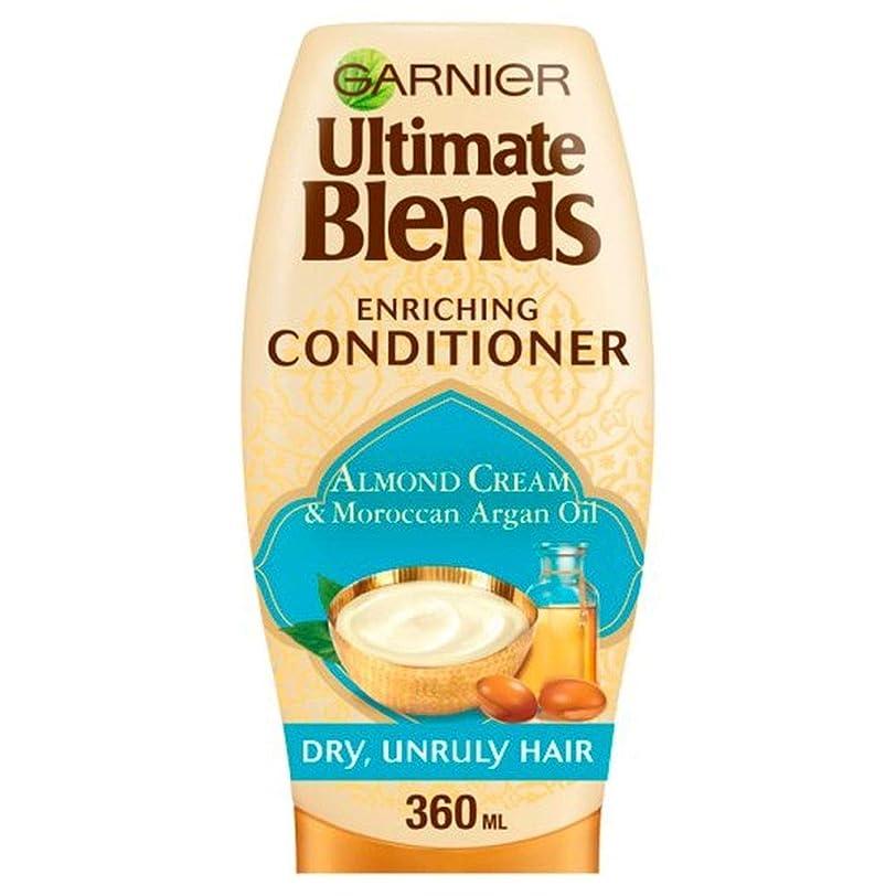 ペルセウス同僚フォロー[Garnier ] Ga/究極ブレンドのArg/油及びアーモンドDr / Hrでコンディショナー360ミリリットルRを - Ga/R Ultimate Blends Arg/Oil And Almond Dr/Hr Conditioner 360Ml [並行輸入品]