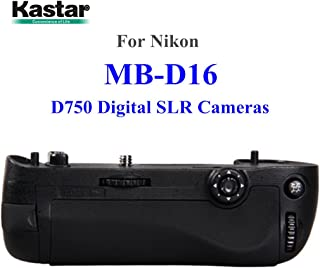 MeterMall Electronics MK-DR750 Battery Grip Pack Replacement for Nikon D750 DSLR Camera with Remote Control