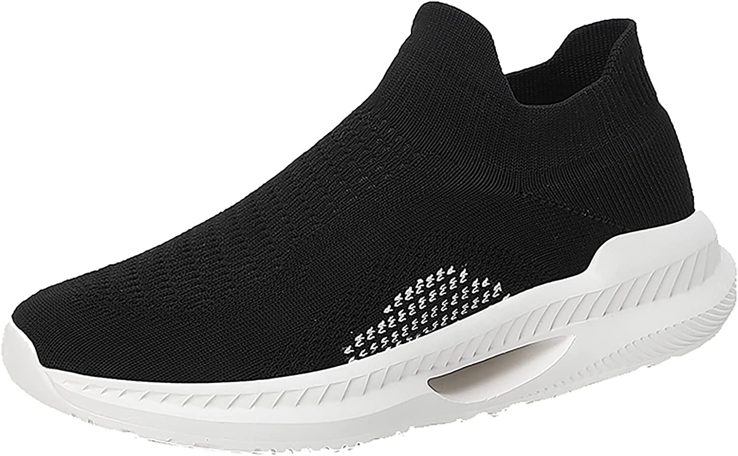 DKBL Women's Mesh Sneakers Hollow Out Walking Shoes Slip On Sports Fitness Shoes Breathable Lightweight Shoes Fashion Running Shoes Flat Street Running Shoes Sneakers