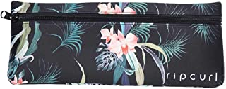 Rip Curl Women's LONG NEO PENCIL CASE Luggage Cosmetic Cases, Black, One Size