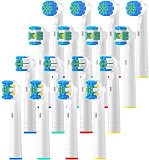 REDTRON Replacement Brush Heads for Oral B, 16Pcs Toothbrush