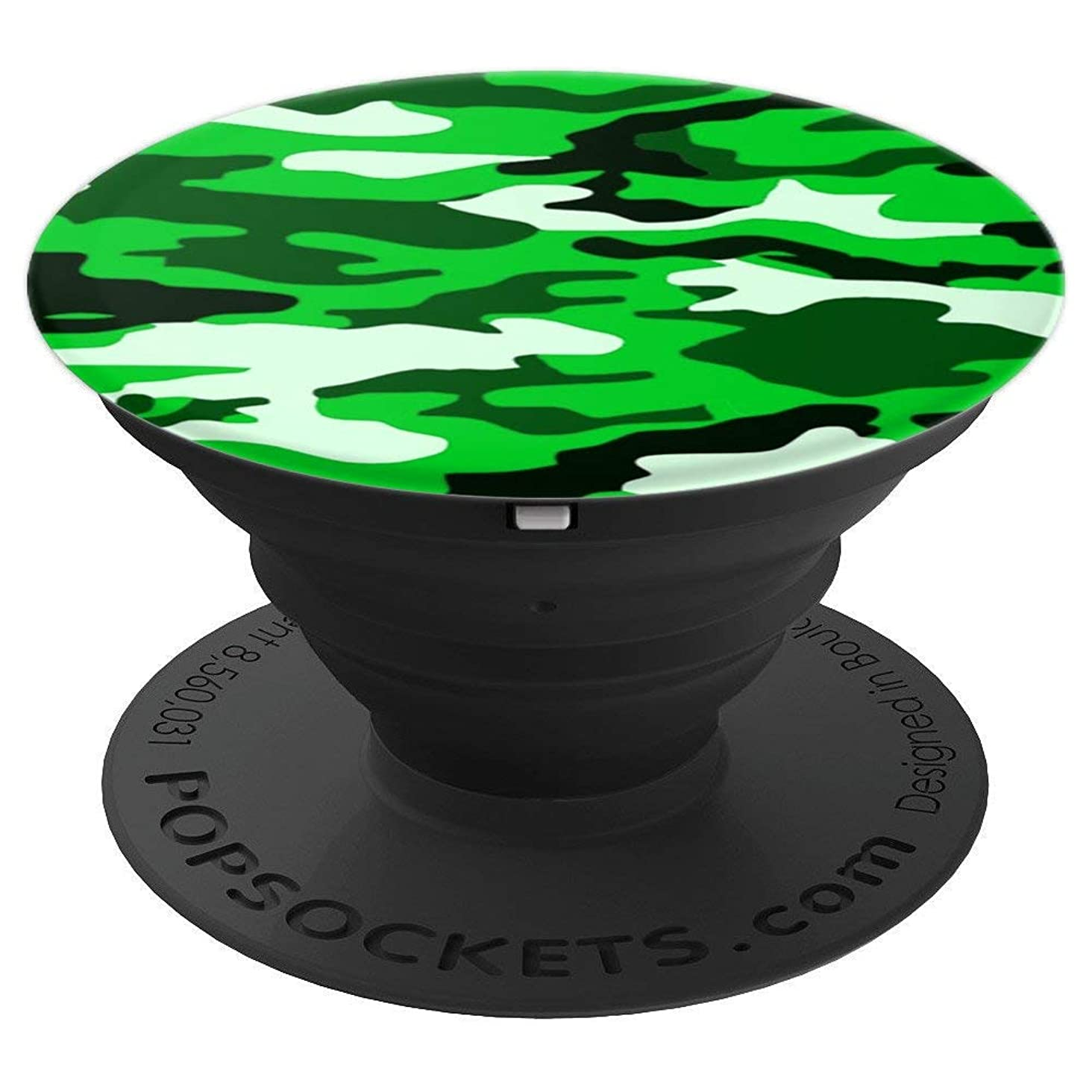 Green Camo For Boys, Black Camouflage For Men, Camoflage - PopSockets Grip and Stand for Phones and Tablets