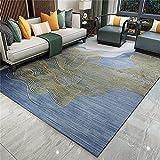 Alfombra Salon Super Suave para Interiores Modernas Grandes Shaggy Antideslizante Pelo Corto, Varios tamaños Fácil de...