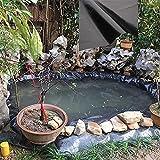 SMYH Forro de Goma para Estanques, 3x4m 4x8m 6x8m 5x10m 7x7m 8x10m 11x12m, Revestimiento para Estanque para El Estanque del Estanque De Peces Fuente Y Jardín De Agua