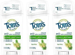 Sponsored Ad - Tom's of Maine Long-Lasting Natural Deodorant, Aluminum Free Deodorant, Deodorant for Women, Tea Tree, 2.25...