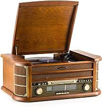 Tocadiscos de 7 en 1 SHUMAN - Reproductor de Giradiscos , FM