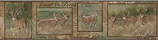 York Wallcoverings Nature's Plan Deer Border, Beige