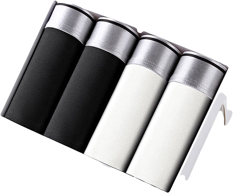 4-8pcs Ice Silk wholesale Boxer Shorts Max 52% OFF C Breathable Underwear Printing Men