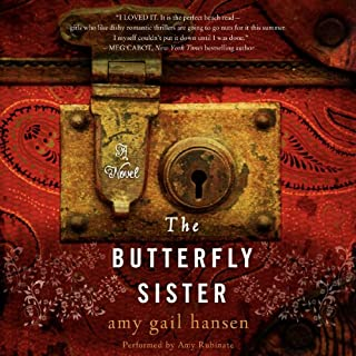 The Butterfly Sister audiobook cover art