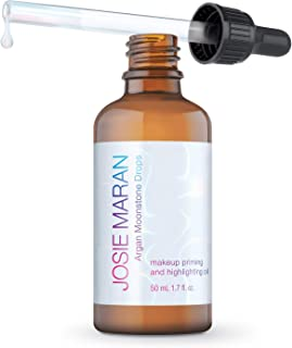 Josie Maran Argan Moonstone Drops - Give Your Skin an Instant Brighter and Nourishing Look (50 ml/1.7 fl oz)