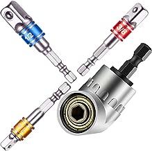 105 Degree Right Angle Screwdriver Drill Attachmentset 1/4