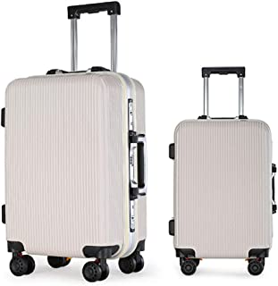 20 inches, 24 inches, 26 inches, 29 inches Color : Ivory, Size : 24 inches Z/&YY Aircraft Wheel Trolley case Business Travel Suitcase Men and Women Leisure Travel Boarding Password Lock Box
