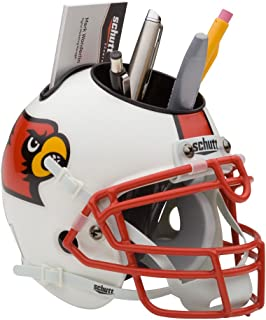 Schutt NCAA Louisville Cardinals Football Helmet Desk Caddy