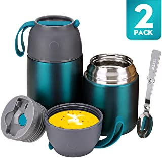 Thermos Food Jar for Hot & Cold Food for Kids Adult, 24...