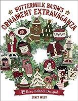 Buttermilk Basin's Ornament Extravaganza: 45 Easy-to-stitch Designs!