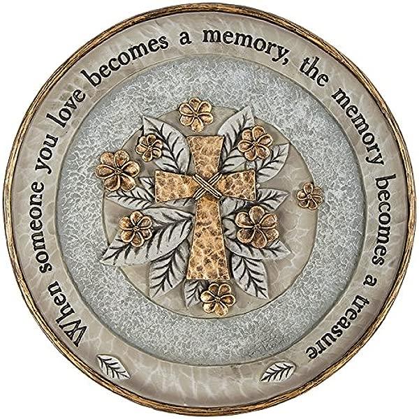 Carson 10 Resin Treasured Memory Garden Stone Plaque