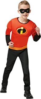 Rubie's 641392NS Official Disney Incredibles 2 Childs Costume, Muscle Top One Size Age 4-6 Years, Boys