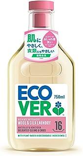 おしゃれぎ用洗剤 肌に優しい ecover エコベール デリケートウォッシュ 750ml 洗濯洗剤 海外 赤ちゃん 日用品 マスク洗剤