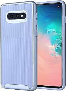 Spevert Dual Layer Designed for Samsung Galaxy S10E Case Shock Absorption Scratch Proof Hybrid Slim Protective Case for Samsung Galaxy S10e 5.8 Inch 2019 Released (Light Blue/Light Blue)