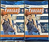 2018-19 Panini THREADS Basketball Card Factory Sealed Retail PACKS (TWO PACKS Total) - Chance for Luka Doncic Rookie and Autograph Cards or Kobe Bryant Autog... rookie card picture