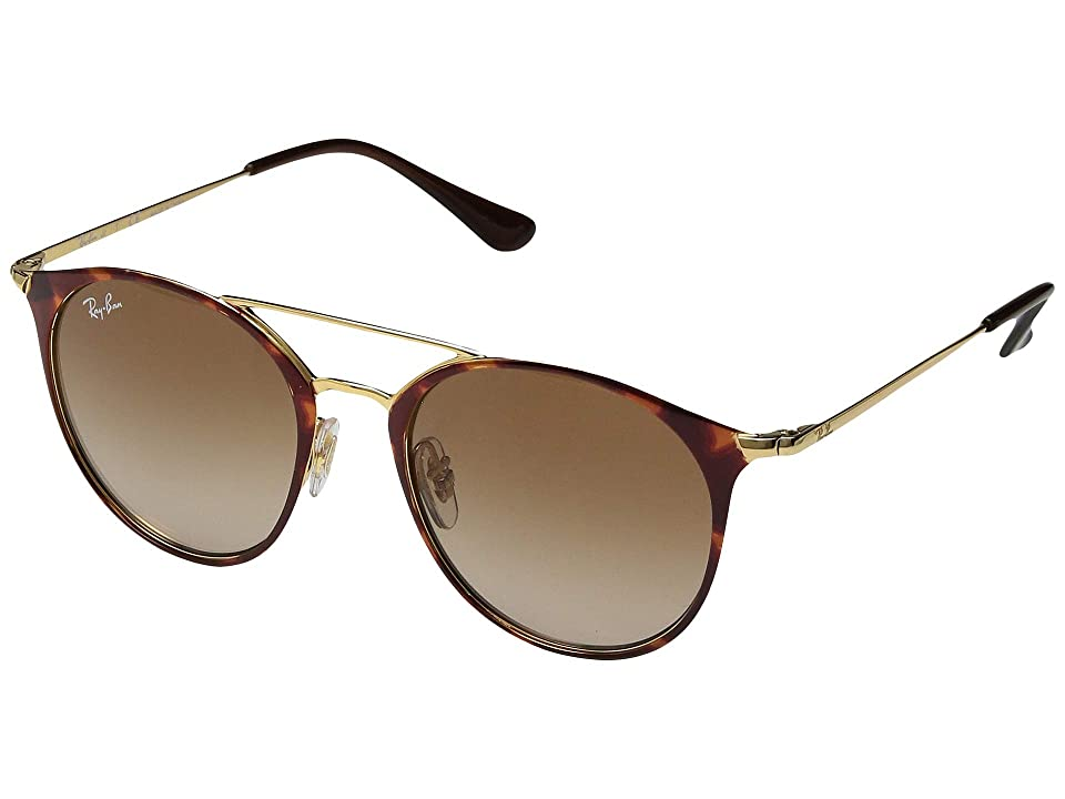 Ray-Ban Junior RJ9545S 47 mm (Youth) (Gold/Havana) Fashion Sunglasses