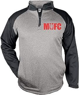 New Manchester United Sport Pro Performance Quarter-Zip Fleece MUFC Pogba Jersey