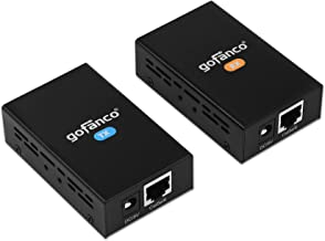 gofanco HDMI Extender 165ft 1080p Over CAT5e/6/7 – up to 165feet (50m) at 1080p, Supports Deep Color, 3D, EDID Copy, Dolby Digital & DTS (HDExt)