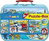 Schmidt Vehicle Keepsake Tin Jigsaw Puzzle