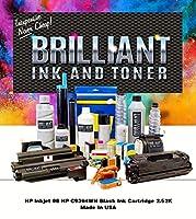 Brilliant c9364wn-brlブラックインクジェットカートリッジ2.520ページYield for HP