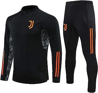 OLKJ Traje De Chándal De Fútbol Júventús 2021, Camiseta De Fútbol para Hombre, Ropa De Entrenamiento, Manga Larga, Camisas...