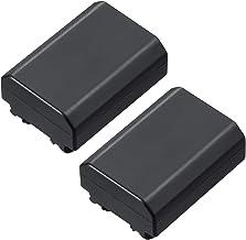 2 Units High Capacity for Sony NP-FZ100 BC-QZ1 NPA-MQZ1K and Sony Alpha 9, Alpha A9 / ILCE-9, Alpha A 9, Alpha 9R, Alpha A...