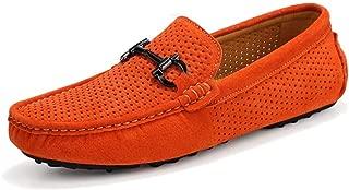 Chaud Nouveau Hommes Mocassins Bout Rond Respirant été Décontracté Conduite À Enfiler Chaussures