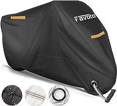 Favoto Funda para Moto Cubierta de la Motocicleta 210T